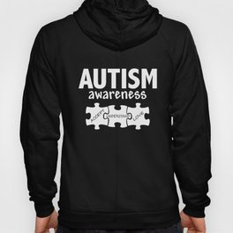 Autism Awareness Support Jigsaw Puzzle Women_s Autism Hoody