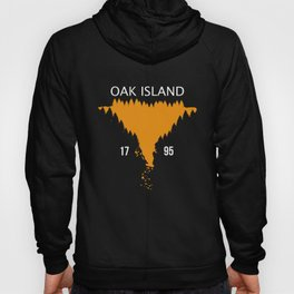 Oak Island 1795 Treasure Hunter Money Pit Canada Hoody
