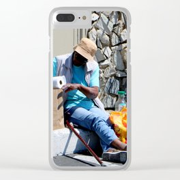 Dining Out - No Reservation Clear iPhone Case