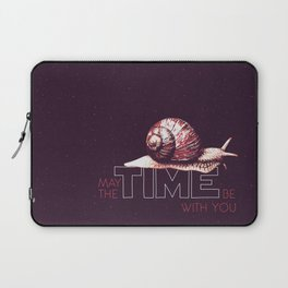 May The TIME Be With You Laptop Sleeve