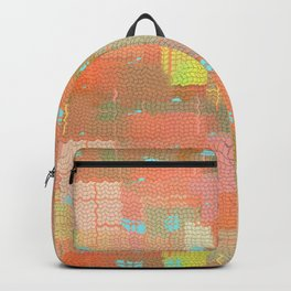 Abstract Color Splash Backpack