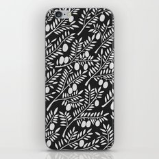 White Olive Branches iPhone & iPod Skin