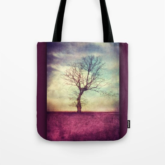 ATMOSPHERIC TREE Tote Bag