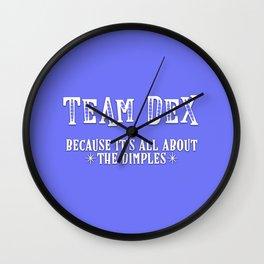Team Dex Wall Clock