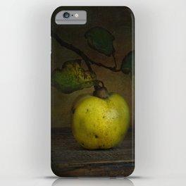 autumn fruit ( quince ) iPhone Case