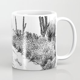 Cactus Path Coffee Mug