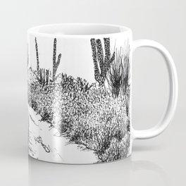 Cactus Path Coffee Mug