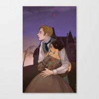 gothic Canvas Prints featuring Gothic by Yu Dori