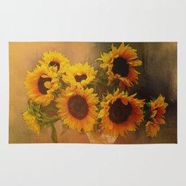 Sunflower Reflections Rug