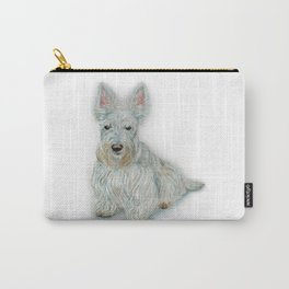 Wheaten Scottish Terrier Carry-All Pouch