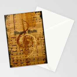 singers unite Stationery Cards