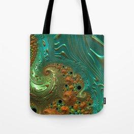Cool Creamsicle - Fractal Art Tote Bag