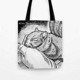 Little Thumbelina Girl: sleeping beauty Tote Bag