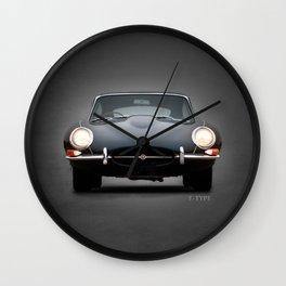 E-Type Jaguar Wall Clock
