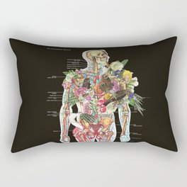 Skeleton Rectangular Pillow