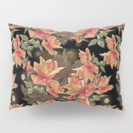 Yellow roses . Imitation glass .3D/ Pillow Sham