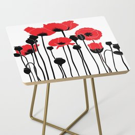 poppies Side Table