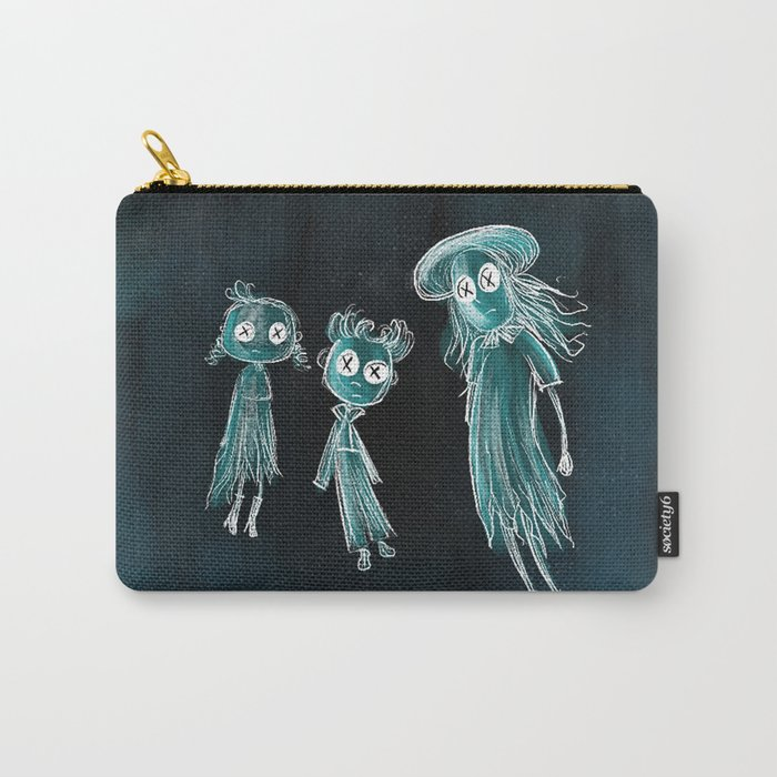 Coraline Ghost Children Carry All Pouch By Hollydoesart Society6