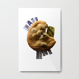 Wake & Bake Metal Print