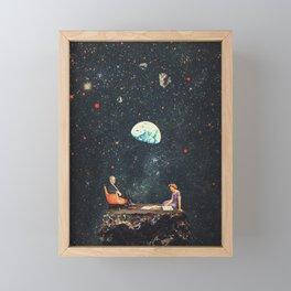I'm Not going Anywhere Framed Mini Art Print