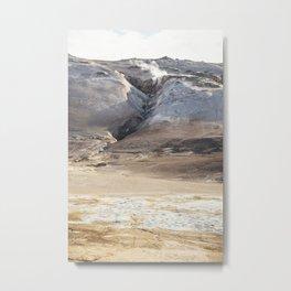 Hverir textures Metal Print