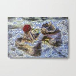 Shoes On The Danube Bank Van Gogh Metal Print