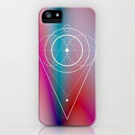 Pastel Geometry iPhone Case