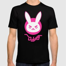 D-Bunny Mens Fitted Tee Black MEDIUM