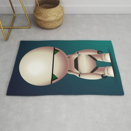 Marvin the Paranoid Android Rug