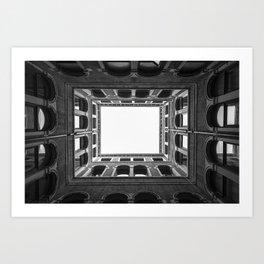 Building Frame Art Print