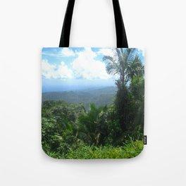 El Yunque Mountains 2 Tote Bag