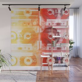Cassette in group#exposure#film#effect Wall Mural