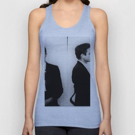 Johnny Cash Mug Shot Music lover Fan mugshot Unisex Tank Top