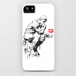 The Procrastinator iPhone Case