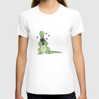 crocodile T-shirts featuring Crocodile by Meredith Mackworth-Praed