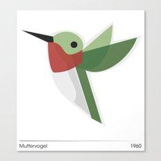 Muttervogel Canvas Print