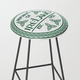 Republic of Ireland - EST. 1921 St.Patrick's Day Awesome Shirt Bar Stool