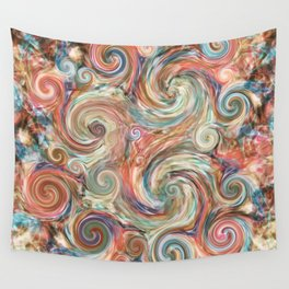 Earthly Pastel Vision Wall Tapestry