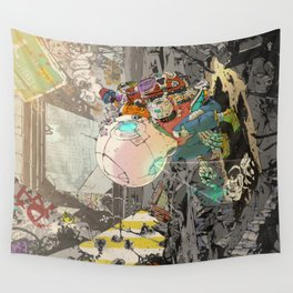 Not Alone Wall Tapestry