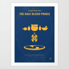 No101-6 My HP - HALF BLOOD PRINCE movie poster Art Print