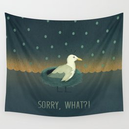 Sorry, what?! Wall Tapestry