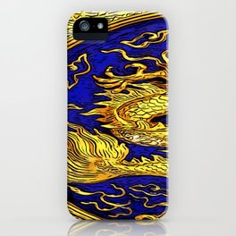the beauty of the lucky dragon iPhone Case