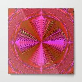 Great pink depth ... Metal Print