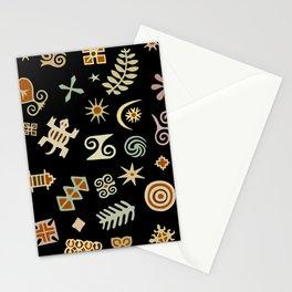 African Adinkra Symbols Stationery Cards