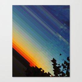 Pxl Canvas Print