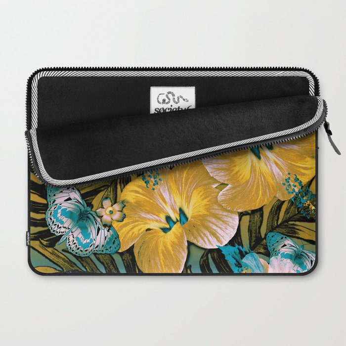 Golden Vintage Aloha Laptop Sleeve