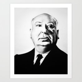 A. Hitchcock Art Print