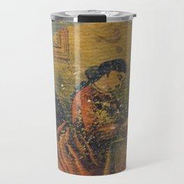 Antique Book Cover * Literacy Art for book lovers* Webster's Practical Letter Writer 1866 #booklover Travel Mug