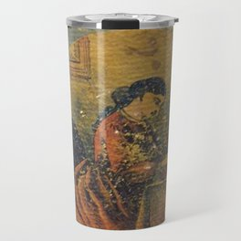 Antique Book Cover * Literacy Art for book lovers* Webster's Practical Letter Writer 1866 #booklover Travel Mug