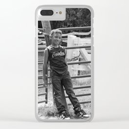 Sincerity - Photo Clear iPhone Case